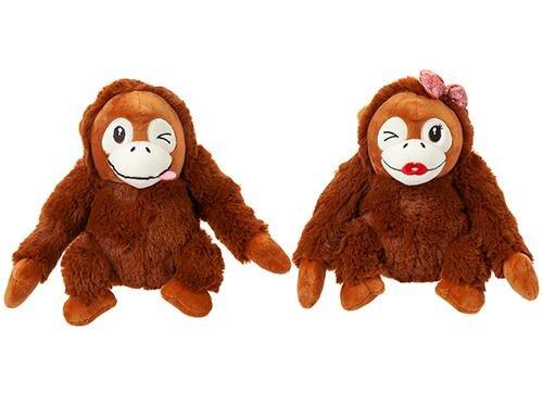 Frecher süßer Orang-Utan aus Plüsch