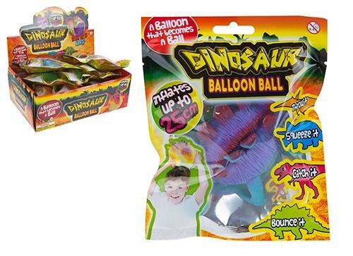 Ballon Ball im Dino-Design ca. 25 cm im Display