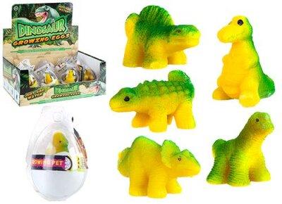 Wachsender Dino im Ei