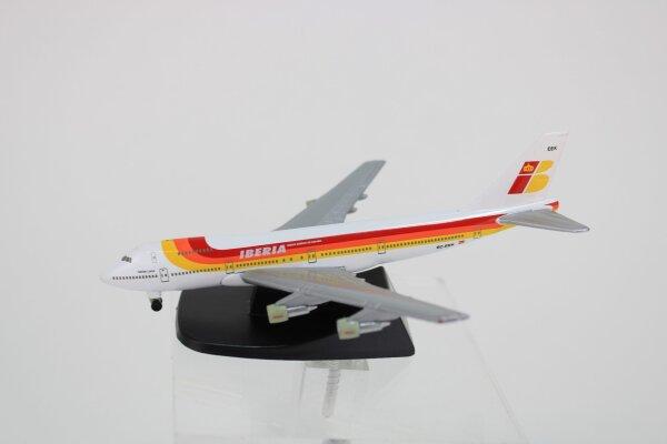 Modellflugzeug Iberia + Alitalia aus Metall, 15 cm
