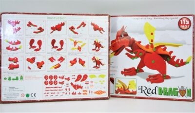 Red Dragon 3D Puzzle