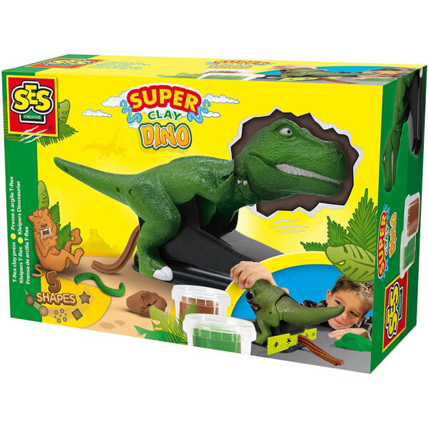 Knetpresse Dinosaurier - Super Clay Dino (inkl. Knete)