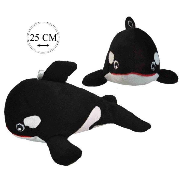 Orca aus Plüsch ca. 25 cm