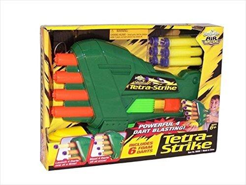 BuzzBee Tetra Strike Softdart Blaster