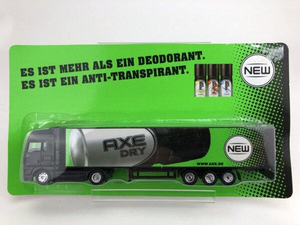 Werbetruck von AXE Dry