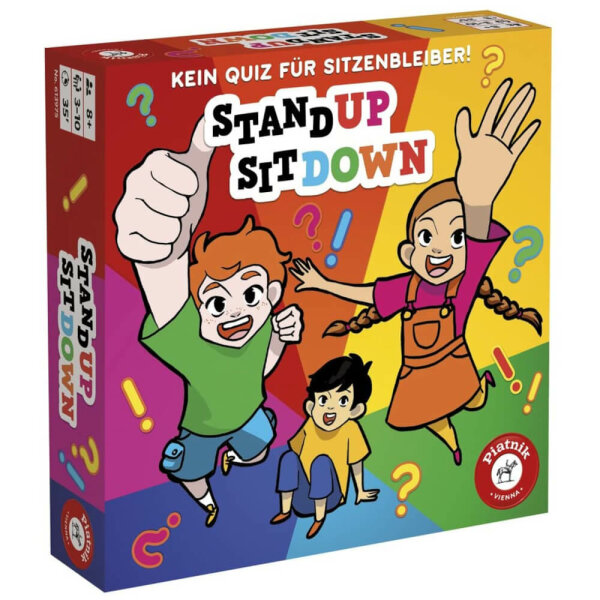 Stand up Sit down - Kein Spiel für Sitzenbleiber von Piatnik