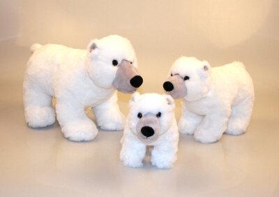 Plüsch Eisbär stehend, Softplüsch
