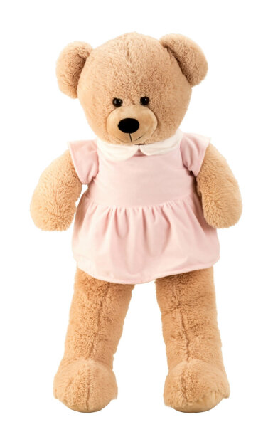 Teddybär Mädchen mit Kleid - ca. 100 cm