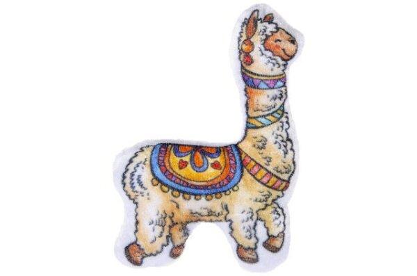 Alpaca aus Plüsch