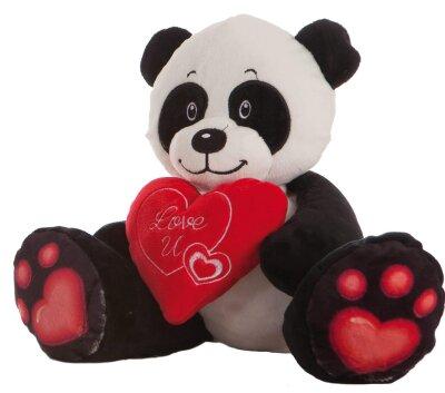 Panda Love U Stofftier mit Herz - ca. 24 cm
