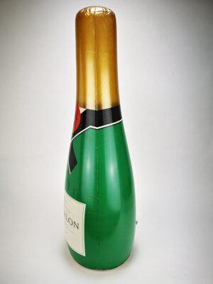 Aufblasbare Sektflasche - ca. 73 cm
