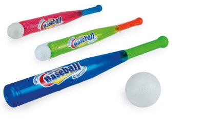 Baseballschläger mit Ball 3fach sortiert ca. 56 cm