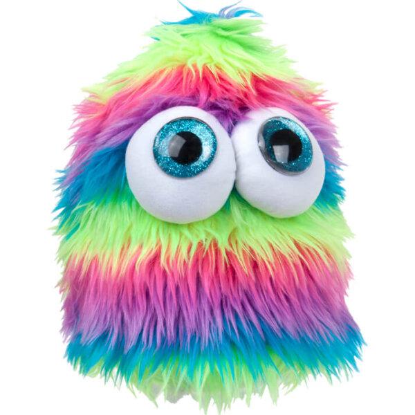 """Monster Mütze mit großen Augen """"Regenbogen-Design"""""""