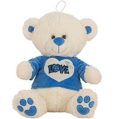 """Teddy mit T-Shirt """"Love"""" blau - verschiedene..."""
