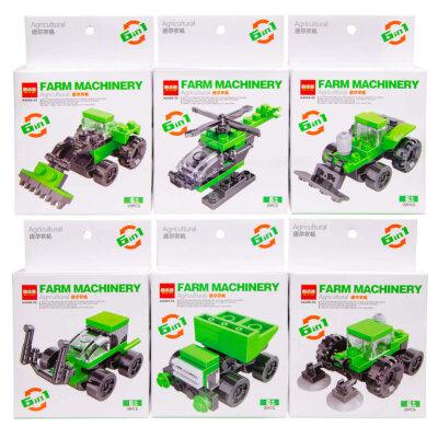 Steckbausteine Landwirtschaft Spielzeug Fahrzeuge