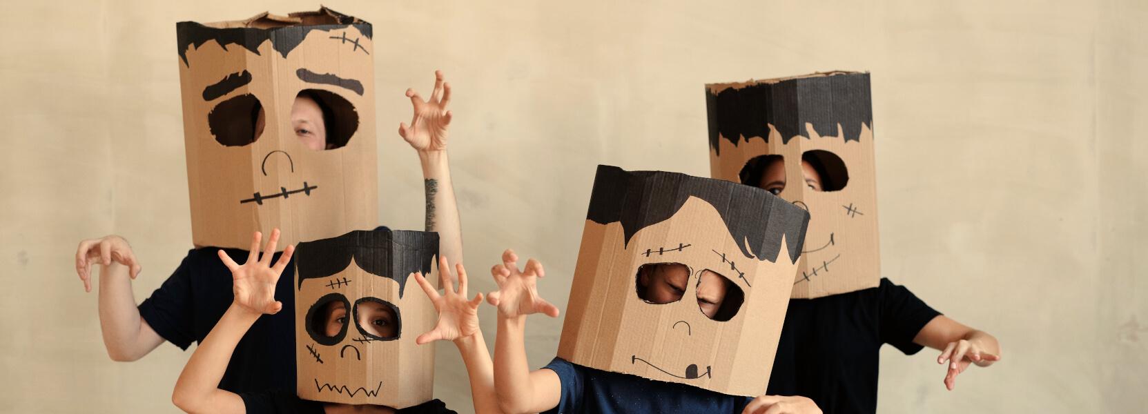 Hol dir lieber echte Halloween-Masken!